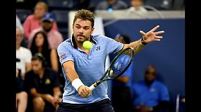 """""""US Open"""": Stanas Wawrinka prieš Novaką Džokovičių"""