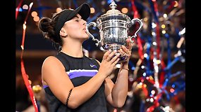 """US Open"" moterų finalas: Bianca Andreescu prieš Sereną Williams"