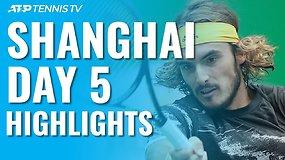 Penktoji ATP turnyro Šanchajuje diena: N.Džokovičius ir R.Federeris pateko į ketvirtfinalį