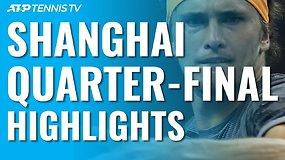 """ATP """"Masters"""" turnyre Šanchajuje – jaunųjų talentų pergalės prieš elitinius atstovus"""