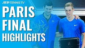 """ATP """"Masters"""" turnyro Paryžiuje apžvalga"""