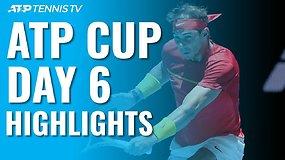 Šeštosios ATP taurės dienos apžvalga: Rafos ir Nolės pergalės bei H.Hurkašo kirtis D.Thiemui