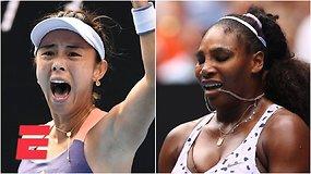 """""""Australian Open"""" trečiajame etape – sensacingas Serenos Williams pralaimėjimas"""
