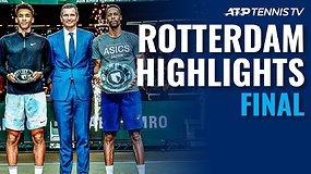 """ABN AMRO World Tennis Tournament"" finalo apžvalga"