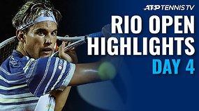 """Ketvirtosios """"Rio Open"""" dienos apžvalga"""