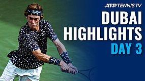 """""""Dubai Duty Free Tennis Championships"""" aštuntfinalių apžvalga"""