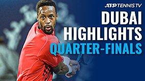 """""""Dubai Duty Free Tennis Championships"""" ketvirtfinalių apžvalga"""
