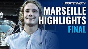 ATP turnyro Marselyje finalas: Stefanos Tsitsipas – Felixas-Auger Aliassime