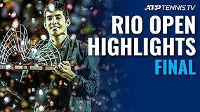 """""""Rio Open"""" finalo apžvalga: čempionu tapo Christianas Garinas!"""