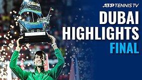 """""""Dubai Duty Free Tennis Championships"""" finalo apžvalga"""