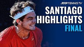 ATP 250 serijos turnyro Santjage finalo apžvalga