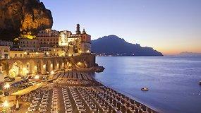 5 neįtikėtino grožio Italijos Amalfio pakrantės miesteliai