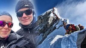 """Sausakimšo Everesto košmaras: prieš mirtį alpinistas pats perspėjo apie pavojų """"mirties zonoje"""""""