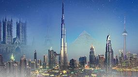 Ar žinai? Nuo piramidžių iki dangoraižių: kaip keitėsi aukščiausias pasaulio pastatas