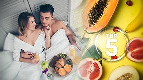 Kaip pakurstyti aistrą lovoje: seksą gerinančių produktų TOP 5