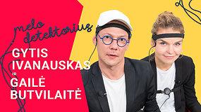 Kaip aktoriai G.Ivanauskas ir G.Butvilaitė bandė apgauti poligrafą: kompromituojantys klausimai vienas kitam ir nuostaba išgirdus atsakymą