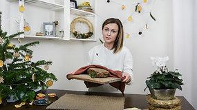 Greitai ir gardžiai: naminė tamsi duona šventiniam stalui
