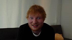 Edo Sheerano kvietimas į koncertą Rygoje