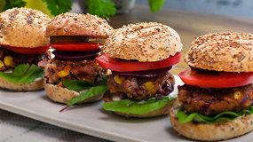 Daug baltymų ir jokios mėsos: suvožtinis vegetarams