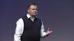 """Lietuvos gamintojų ir tiekėjų konferencija 2019: Giedrius Oliškevičius """"Pirkėjo rinkodara: kas lemia apsisprendimą prie prekių lentynos?"""""""
