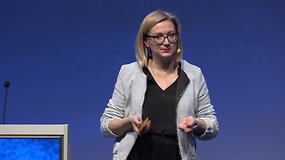 """Lietuvos gamintojų ir tiekėjų konferencija 2019: Žaneta Simonaitytė """"Mažmeninę prekybą ir apsipirkimą keičiantys veiksniai. Kas, be kainos, yra svarbu?"""""""