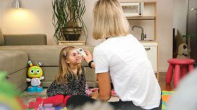 Iššūkis: ar įmanoma pamatuoti vaikui temperatūrą per 3 sekundes?