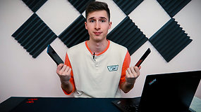 """Andriaus-JustSphex """"Samsung Galaxy Note 10"""" ir """"Xiaomi Mi Note 10"""" telefonų apžvalga. Kuris prietaisas pranašesnis?"""