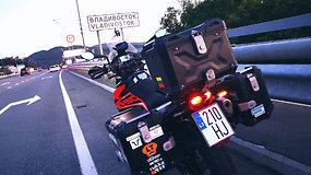 Lietuvio kelionė aplink pasaulį: motociklininko laukia kitas iššūkis