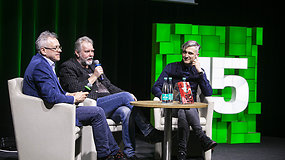 """""""Vilniaus knygų mugė"""" – H.Kunčiaus romano """"Geležinė Stalino pirštinė"""" pristatymas"""