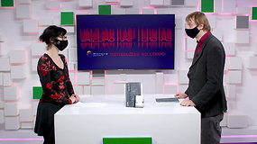 """Vilniaus knygų mugės """"Šortai"""": Virginija Cibarauskė kalbina Mantą Balakauską"""
