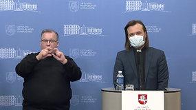 Kunigo A.Toliato ir ministro K.Mažeikos komentarai iš Vyriausybės