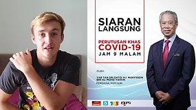 """Malaizijoje studijuojantis Aivaras: """"situacija per penkias dienas visiškai pasikeitė"""""""