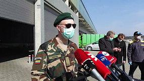 Į Lietuvą atgabenta apsaugos priemonių siunta medikams, dirbantiems su pacientais infekcinių ligų skyriuose