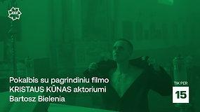 """""""Kino pavasaris: pokalbis su pagrindiniu filmo """"Kristaus kūnas"""" aktoriumi Bartosz Bielenia"""