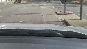Ištuštėjusios Londono gatvės karantino metu