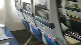 Andrius užfiksavo pustuštį lėktuvą, skridusį iš Ganos į Nyderlandus