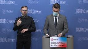 Iš Vyriausybės – apie situaciją Lietuvoje informuoja L.Savickas