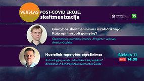 Verslo ateitis post-covid eroje: gamybos optimizavimas ir robotizacija