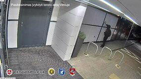 Paviešintas vaizdo įrašas, kaip pernai Vilniuje jaunasis nacis bandė surengti teroro aktą