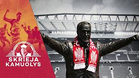 """""""Skrieja kamuolys"""": Kesminas prieš Nr. 7, SSRS prieš Pinochetą, """"Barcos"""" vadyba prieš logiką ir """"Liverpool"""" triumfas"""