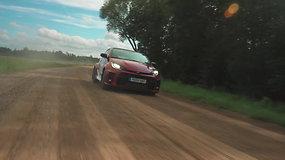 Benediktas Vanagas WRC Estijoje atlieka saugumo ir reklaminę misiją