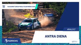 """""""Rally Elektrėnai 2020"""": daug greičio, šuoliai per tramplinus ir emocijos po finišo"""