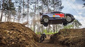 Automobilis prieš dviratį: ekstremali sporto šakų dvikova