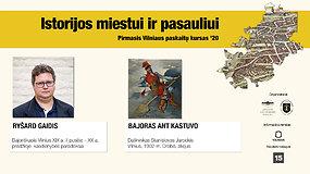 """Ryšard Gaidis """"Bajoriškasis Vilnius XIX a. II pusėje – XX a. pradžioje: kasdienybės paradoksai"""""""