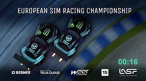 """""""Dream 2 Drive"""" Europos virtualių lenktynių čempionatas pirmo pusfinalio 2-as etapas"""