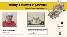 """Paskaita. Irena Vaišvilaitė """"Roma Vilniuje"""""""