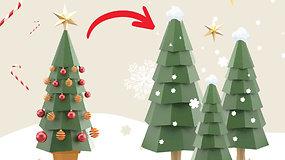 Žemės diena. Eglutės grįžta į gamtą / namo – Vilniaus meras inicijuoja Kalėdų miško prie Verkių rūmų sodinimą