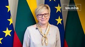"""Premjera: laidoje """"Išbandymas valdžia"""" dalyvauja ministrė pirmininkė Ingrida Šimonytė"""