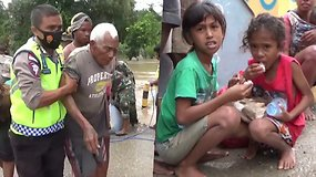 Indonezijoje audra Seroja pražudė daugiau, nei 60 žmonių dar daugiau dingo be žinios