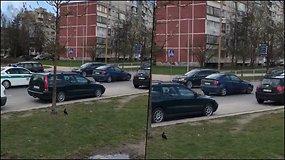 Vilniuje – kelių chuligano gaudynės